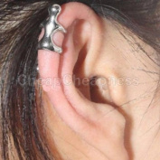 Silver Climbing Man Naked Climber Ear Cuff Helix Cartilage Earring 1PCS