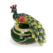 Peacock Trinket Box