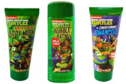 TMNT Ninja Turtle Body Wash + Bubble Bath + Shampoo