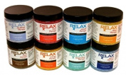 Rx Therapy Scented Aromatherapy Bath Salts-120ml Bottles, Pack of 8-Soak Aches, Pains & Stress Relief in Spa, Hot Tub or Whirlpool