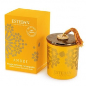 Esteban Ambre Scented Decorative Candle Refillable 160ml