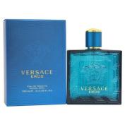 Versace Eros Eau de Toilette Spray for Men, 100ml