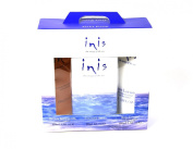 Inis Travel Gift Set 30ml Cologne, 100ml Body Lotion, 100ml Shower Gel