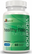 Vibrance Vitamins for Hair Growth, 60 Vegetarian Capsules