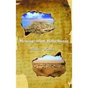 Message from Baluchistan