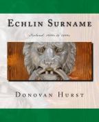 Echlin Surname