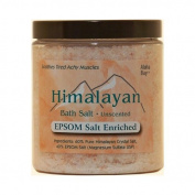 Himalayan Salt Bath Salt - 40% Epsom Salt Enriched - 710ml