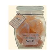 Himalayan Salt Sole Salt Chunks In Jar - 470ml