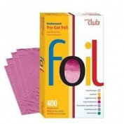 Product Club Ef400-fs 400 Ct Embossed Pre Cut Foil 13cm x 20cm Fuschia
