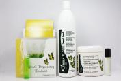 "Kismera Line Growth Regenerating Treatment 12ampoules / 15ml each & Regenerating Shampoo 16.9oz & Regenerating Cream 16.9oz ""Set"""