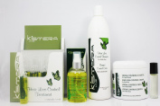 "Kismera Line Hair Loss Control Treatment 12ampoules / 15ml each & Hair Loss Control Lotion 4oz & Hair Loss Control Shampoo 16.9oz & Hair Loss Control Cream 16.9oz ""Set"""