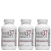 Hair Vitamins | Faster Growing Hair | Healthy Hair Growth | Biotin for Hair | Advanced Hair Formula 37 Hair Growth Vitamins 3 month supply