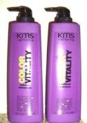 KMS Colour Vitality 750ml Shampoo + 750ml Conditioner
