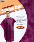 Dream Salon Ware Deluxe Designed Shampoo Cape Colour Burgundy