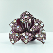 Twinkle Orchid Crystal Scrunchies