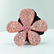 Twinkle Flower Crystal Scrunchies