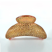 Twinkle Large Arch Crystal Jaw Hair Clip