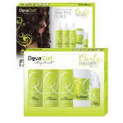 DevaCurl Curl 3-Step Discovery Kit with No-Poo, One Condition & Light Defining Gel