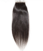 High Quanlity Lace Front Top Closure Mongolian Virgin Remy Hair natural straight 5*5 natural colour Can Be Dyed