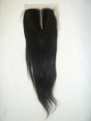 High Quanlity Mid- Part Lace Front Top Closure Malaysian Virgin Remy Hair natural straight 5*5 natural colour Can Be Dyed