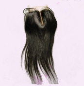 High Quanlity Mid- Part Lace Front Top Closure Mongolian Virgin Remy Hair natural straight 5*5 natural colour Can Be Dyed