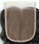 High Quanlity Mid- Part Lace Front Top Closure Peruvian Virgin Remy Hair natural straight 5*5 natural colour Can Be Dyed