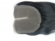 Wholesale Mid- Part Lace Front Top Closure Peruvian Virgin Remy Hair natural straight 5*5 natural colour Can Be Dyed