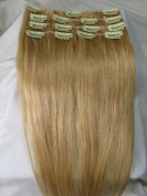 70cm 10pcs Wholesale 140g 2014 Spring Fashion Trend#16/#18/#22/#24/#27/#30 Human Hair Remy Straight Clips in Extensions