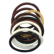 Burmax Gold Magic Assorted Elastic Bands - 12 Bands/Pack