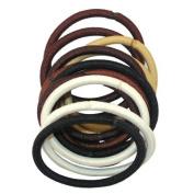 Burmax Gold Magic Assorted Elastic Bands - 12 Bands/Pack