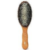 ACCA KAPPA Professional Pneumatic Nylon Boar Bristle Hairbrush, Oval 1 ea