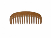 Comb Hand Made Wide Tooth Teak Wood
