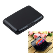 Wallet Credit Card Holder RFID Blocking - Black