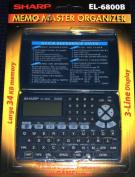 Memo Master Electronic Organiser