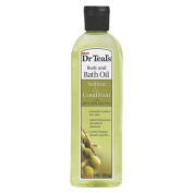 Dr Teal's Body & Bath Oil with Olive Oil & Aloe Vera, Soften & Condition, 260ml