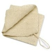 Baudelaire Bath Accessories Sisal Wash Cloth 29cm x 29cm