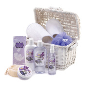 Koolekoo Iris Blueberry Spa Basket Set
