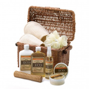 Koolekoo Vanilla Ginger Spa Basket Set