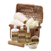 Koolekoo Vanilla Ginger Spa Basket Set