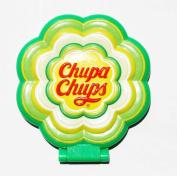 Chupa Chaps relief mirror (flower type) Green Apple