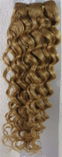 46cm Colour:strawberry Blonde (#27) Deep Wave Brazilian Virgin Remy Hair Wefts - 100% Raw Virgin Human Hair Weave