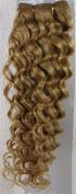46cm Colour:strawberry Blonde (#27) Deep Wave Brazilian Virgin Remy Hair Wefts - 100% Raw Virgin Human Hair Weave