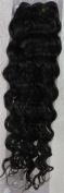 46cm Colour:dark Brown (#02) Deep Wave Brazilian Virgin Remy Hair Wefts - 100% Raw Virgin Human Hair Weave