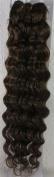 46cm Colour:light Brown (#06) Deep Wave Brazilian Virgin Remy Hair Wefts - 100% Raw Virgin Human Hair Weave