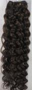 46cm Colour:medium Brown (#04) Deep Wave Brazilian Virgin Remy Hair Wefts - 100% Raw Virgin Human Hair Weave