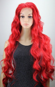 Ari Collection 10037 Lace Front Wig, Colour# Fire Red