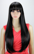Ari Collection 1007 Drawstring-Adjustable Full Wig, Colour# 1