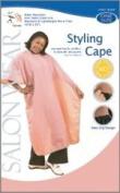 Salon Wear Styling Cape - Colour Burgundy