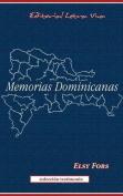 Memorias Dominicanas [Spanish]