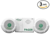 Smart Caregiver Two Call Buttons & Wireless Caregiver Pager